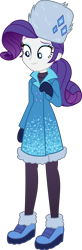Size: 2450x7490 | Tagged: safe, artist:steyrrdash, rarity, equestria girls, equestria girls series, holidays unwrapped, spoiler:eqg series (season 2), clothes, simple background, solo, transparent background, vector, winter outfit