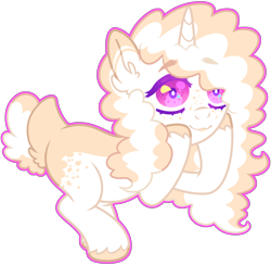 Size: 2940x2868 | Tagged: safe, artist:kurosawakuro, pony, unicorn, base used, colored pupils, female, magical lesbian spawn, mare, offspring, parent:pear butter, parent:twilight velvet, simple background, solo, transparent background