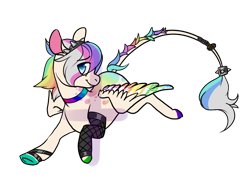 Size: 1200x900 | Tagged: safe, artist:-censored-, oc, oc only, pegasus, pony, base used, colored wings, fishnets, hoof polish, leonine tail, male, multicolored hair, multicolored wings, pegasus oc, rainbow hair, rainbow wings, running, simple background, solo, stallion, transparent background, underhoof, wings