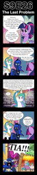 Size: 600x2775 | Tagged: safe, artist:vavacung, princess celestia, princess luna, twilight sparkle, alicorn, pony, the last problem, angry, blank eyes, clothes, coconut, coconut tree, comic, coronation dress, cross-popping veins, crying, dress, female, food, music notes, ocular gushers, relaxing, second coronation dress, tears of anger, trollestia, twilight sparkle (alicorn), vacation