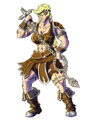 Size: 1500x2000 | Tagged: safe, artist:korencz11, applejack, human, abs, applejacked, belts, boots, braid, breasts, busty applejack, castlevania, chain whip, cleavage, clothes, crossover, headband, humanized, muscles, shoes, simon belmont, simple background, solo, transparent background, weapon, whip