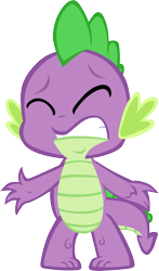 Size: 3529x6001 | Tagged: safe, artist:memnoch, spike, dragon, eyes closed, male, simple background, solo, transparent background, vector