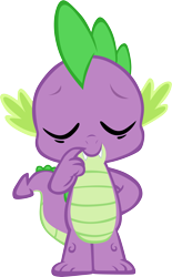 Size: 3703x5965 | Tagged: safe, artist:memnoch, spike, dragon, eyes closed, male, simple background, solo, transparent background, vector