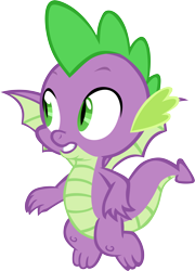 Size: 4317x6001 | Tagged: safe, artist:memnoch, spike, dragon, flying, male, simple background, solo, transparent background, vector, winged spike