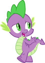 Size: 4293x5932 | Tagged: safe, artist:memnoch, spike, dragon, male, simple background, solo, transparent background, vector, winged spike