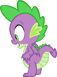 Size: 4462x6001 | Tagged: safe, artist:memnoch, spike, dragon, male, simple background, solo, transparent background, vector, winged spike