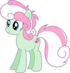 Size: 5354x5588 | Tagged: safe, artist:digimonlover101, oc, oc:meadow dreams, earth pony, pony, absurd resolution, female, magical lesbian spawn, mare, offspring, parent:bon bon, parent:lyra heartstrings, parents:lyrabon, simple background, solo, transparent background