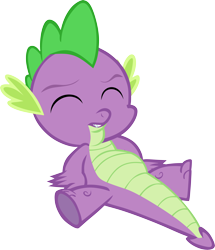 Size: 5070x5901 | Tagged: safe, artist:memnoch, spike, dragon, simple background, solo, transparent background, vector
