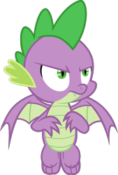 Size: 2000x2957 | Tagged: safe, artist:steyrrdash, derpibooru exclusive, spike, dragon, the ending of the end, spoiler:s09e24, spoiler:s09e25, simple background, solo, transparent background, vector