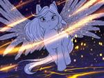 Size: 1024x768 | Tagged: safe, artist:iimd, artist:imd, alicorn, earth pony, pegasus, pony, unicorn, epic, magic, your character here