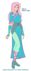 Size: 1357x3113   Tagged: safe, artist:pyrus-leonidas, fluttershy, human, series:mortal kombat:defenders of equestria, badass, clothes, crossover, dress, flutterbadass, humanized, mortal kombat, part of a series, part of a set, simple background, solo, transparent background, video game crossover