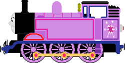 Size: 434x219 | Tagged: safe, artist:jedirhydon101st, twilight sparkle, inanimate tf, solo, steam locomotive, thomas the tank engine, train, trainified, transformation