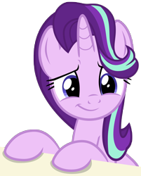 Size: 4724x5869 | Tagged: safe, artist:famousmari5, starlight glimmer, pony, unicorn, a horse shoe-in, absurd resolution, cute, female, glimmerbetes, mare, she knows, simple background, smiling, solo, transparent background