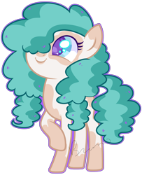 Size: 3341x4121 | Tagged: safe, artist:kurosawakuro, oc, oc only, earth pony, pony, base used, cute, female, filly, magical lesbian spawn, ocbetes, offspring, outline, parent:cloudy quartz, parent:pear butter, simple background, solo, transparent background, weapons-grade cute