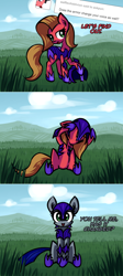 Size: 1080x2404 | Tagged: safe, artist:shovrike, oc, oc:pun, pony, ask pun, agent 707, armor, ask, night guard armor, solo