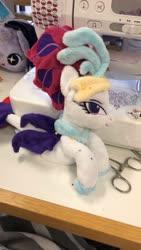 Size: 1080x1920 | Tagged: safe, artist:rubiowolf, queen novo, my little pony: the movie, irl, photo, plushie