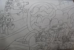 Size: 3643x2486 | Tagged: safe, artist:徐詩珮, fizzlepop berrytwist, glitter drops, maud pie, pinkie pie, spring rain, starlight glimmer, tempest shadow, twilight sparkle, alicorn, unicorn, series:sprglitemplight diary, series:sprglitemplight life jacket days, series:springshadowdrops diary, series:springshadowdrops life jacket days, alternate universe, angry, bisexual, broken horn, chase (paw patrol), clothes, cute, female, glitterbetes, glitterlight, glittershadow, horn, lesbian, lifeguard, lifeguard spring rain, lifejacket, marshall (paw patrol), paw patrol, polyamory, shipping, skye (paw patrol), sprglitemplight, springbetes, springdrops, springlight, springshadow, springshadowdrops, tempestbetes, tempestlight, twilight sparkle (alicorn), zuma (paw patrol)