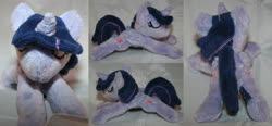 Size: 4324x2000 | Tagged: safe, artist:bastler, twilight sparkle, alicorn, pony, irl, photo, plushie, sleeping, twilight sparkle (alicorn)