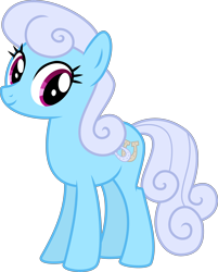 Size: 4000x4978 | Tagged: safe, alternate version, artist:melisareb, linky, shoeshine, earth pony, pony, .svg available, absurd resolution, background pony, cute, female, gameloft, looking at you, mare, recolor, simple background, solo, transparent background, vector