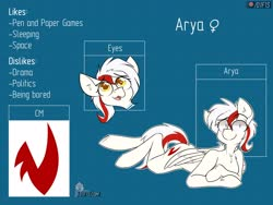Size: 4000x3000 | Tagged: safe, alternate version, artist:difis, oc, oc:arya, female, reference sheet
