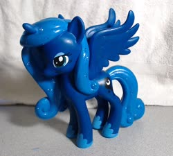 Size: 3233x2906 | Tagged: safe, artist:eatcarbs, princess luna, custom, irl, photo, toy