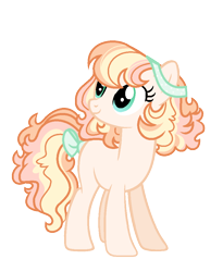 Size: 808x984 | Tagged: safe, artist:rosebuddity, oc, oc only, earth pony, pony, female, magical lesbian spawn, mare, offspring, parent:applejack, parent:pinkie pie, parents:applepie, simple background, solo, transparent background