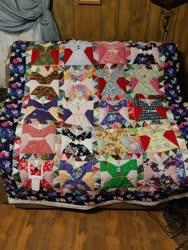 Size: 768x1024 | Tagged: safe, applejack, fluttershy, pinkie pie, rainbow dash, rarity, twilight sparkle, pony, seapony (g4), mane six, photo