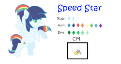 Size: 2912x1544 | Tagged: safe, artist:jazmin04, artist:sparkleheartyrose24, oc, oc only, oc:speed star, pegasus, pony, base used, cutie mark, eye clipping through hair, female, flying, mare, next generation, offspring, parent:rainbow dash, parent:soarin', parents:soarindash, pegasus oc, reference sheet, simple background, solo, spread wings, transparent background, wings