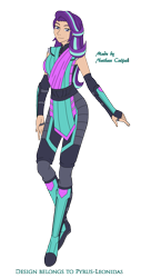 Size: 1481x2910 | Tagged: safe, artist:pyrus-leonidas, starlight glimmer, human, series:mortal kombat:defenders of equestria, belt, boots, bracer, clothes, crossover, female, fingerless gloves, gloves, humanized, mortal kombat, pants, part of a series, part of a set, shoes, simple background, solo, transparent background, video game crossover