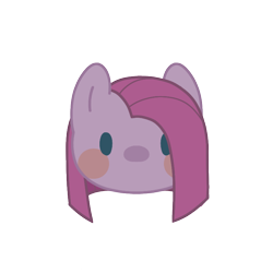 Size: 800x800 | Tagged: safe, artist:mya3332, pinkie pie, beady eyes, blush sticker, blushing, bust, chibi, cute, cuteamena, diapinkes, head only, looking at you, part of a set, pinkamena diane pie, portrait, simple background, solo, transparent background