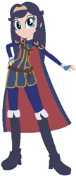 Size: 251x583 | Tagged: safe, artist:selenaede, artist:user15432, human, equestria girls, barely eqg related, base used, boots, cape, clothes, crossover, crown, dress, equestria girls style, equestria girls-ified, fingerless gloves, fire emblem, fire emblem: awakening, gloves, jewelry, lucina, nintendo, regalia, shoes, super smash bros.