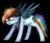 Size: 551x478 | Tagged: safe, artist:clairedaartiste444, rainbow dash, cyborg, pegasus, pony, cheek fluff, simple background, solo, transparent background