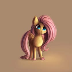 Size: 4000x4000 | Tagged: safe, alternate version, artist:miokomata, fluttershy, pegasus, pony, butterscotch, chest fluff, colored hooves, facial hair, freckles, freckleshy, goatee, looking at you, male, moustache, rule 63, stallion