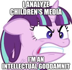 Size: 500x488 | Tagged: safe, edit, edited screencap, screencap, starlight glimmer, pony, the cutie map, angry, background removed, caption, image macro, ragelight glimmer, solo, text