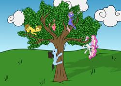 Size: 3508x2480 | Tagged: safe, artist:onlymeequestrian, oc, oc only, oc:brightfull flux, oc:firebrave trustful, oc:vankat v, earth pony, pony, unicorn