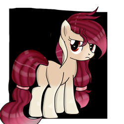 Size: 3000x3000 | Tagged: safe, artist:applerougi, oc, earth pony, pony, butt, female, mare, plot, solo