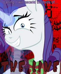 Size: 1620x1980 | Tagged: safe, artist:aaronmk, rarity, baseball bat, clothes, infinity franchise, jersey, lisa the pointless, magic, telekinesis, text, the line