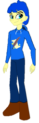Size: 197x608 | Tagged: safe, oc, oc:aiding assistant, human, equestria girls, humanized, photo