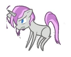 Size: 367x295   Tagged: safe, artist:priorknight, oc, oc only, oc:glimmerlight, pony, unicorn, fallout equestria, fallout equestria: murky number seven, chibi, fanfic art, female, horn, mare, unicorn oc