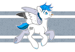Size: 1431x998 | Tagged: safe, artist:hellishprogrammer, oc, oc only, oc:jeremy, pegasus, male, simple background, snow, snowflake, solo, stallion, tongue out, transparent background