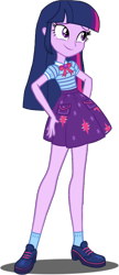 Size: 1280x2961 | Tagged: safe, artist:tyrantargent, twilight sparkle, equestria girls, clothes, clothes swap, cute, female, legs, simple background, skirt, solo, transparent background, twiabetes