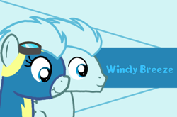 Size: 1088x720 | Tagged: safe, artist:crystal wishes, artist:windy breeze, oc, oc:soaring breeze, oc:windy breeze, pegasus, pony, clothes, female, male, mare, name, rule 63, scrunchy face, stallion, uniform, wonderbolts, wonderbolts uniform