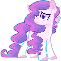 Size: 2080x2068 | Tagged: safe, artist:kurosawakuro, oc, oc only, pegasus, pony, base used, female, freckles, heterochromia, magical lesbian spawn, mare, offspring, outline, parent:cookie crumbles, parent:windy whistles, parents:windycookie, simple background, solo, transparent background