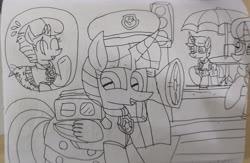 Size: 2674x1747 | Tagged: safe, artist:徐詩珮, fizzlepop berrytwist, glitter drops, spring rain, tempest shadow, twilight sparkle, alicorn, unicorn, series:sprglitemplight diary, series:sprglitemplight life jacket days, series:springshadowdrops diary, series:springshadowdrops life jacket days, alternate universe, bisexual, broken horn, chase (paw patrol), clothes, cute, female, glitterbetes, glitterlight, glittershadow, horn, lesbian, lifeguard, lifeguard spring rain, lifejacket, marshall (paw patrol), paw patrol, polyamory, shipping, skye (paw patrol), sprglitemplight, springbetes, springdrops, springlight, springshadow, springshadowdrops, tempestbetes, tempestlight, twilight sparkle (alicorn), zuma (paw patrol)