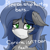 Size: 1000x1000   Tagged: safe, artist:eclipsepenumbra, oc, oc only, oc:eclipse penumbra, bat pony, bat pony oc, bat wings, coronavirus, covid-19, female, mare, sad, surgical mask, text, wings