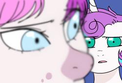 Size: 1226x838   Tagged: safe, artist:sirena-flitter, princess flurry heart, oc, alicorn, crystal pony, pony, unicorn, female, mare, older, older flurry heart, story included