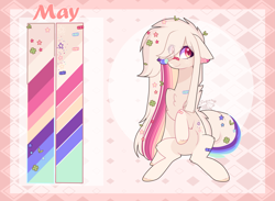 Size: 3325x2437 | Tagged: safe, artist:sugaryicecreammlp, oc, oc only, oc:may, earth pony, pony, female, high res, mare, reference sheet, solo