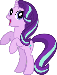 Size: 4000x5301 | Tagged: safe, artist:melisareb, starlight glimmer, pony, unicorn, .svg available, absurd resolution, cute, female, gameloft, glimmerbetes, inkscape, mare, rearing, simple background, solo, transparent background, vector