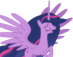 Size: 13392x10500 | Tagged: safe, alternate version, artist:andoanimalia, twilight sparkle, alicorn, pony, the last problem, spoiler:s09e26, absurd resolution, female, flying, mare, princess twilight 2.0, simple background, solo, transparent background, twilight sparkle (alicorn), vector