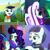 Size: 2160x2160 | Tagged: safe, screencap, coloratura, earth pony, pony, the mane attraction, compilation, countess coloratura, female, filly, mare, rara, solo
